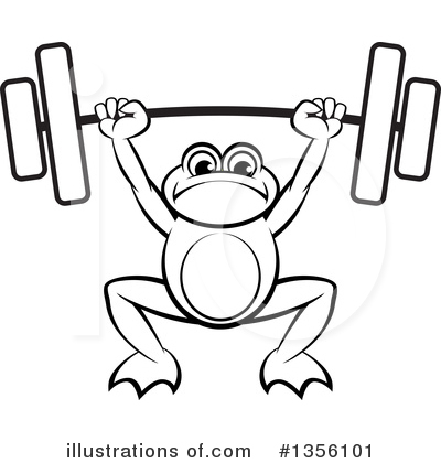 Weightlifting Clipart #1356101 by Lal Perera