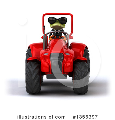 Green Business Frog Clipart #1356397 by Julos