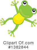 Royalty-Free (RF) Frog Clipart Illustration #1382844