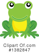 Royalty-Free (RF) Frog Clipart Illustration #1382847