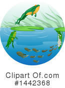 Royalty-Free (RF) Frog Clipart Illustration #1442368