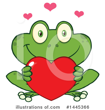 Frog Clipart #1445366 by Hit Toon