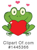 Royalty-Free (RF) Frog Clipart Illustration #1445366