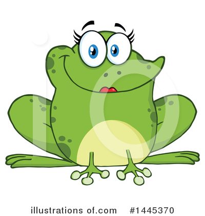 Frog Clipart #1445370 by Hit Toon