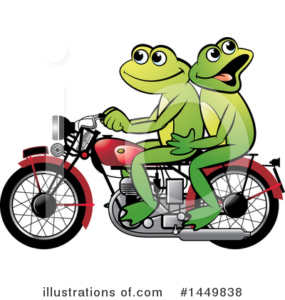 Frog Clipart #1449838 by Lal Perera