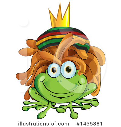 Frog Clipart #1455381 by Domenico Condello