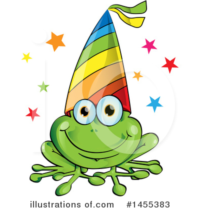 Frog Clipart #1455383 by Domenico Condello