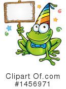 Frog Clipart #1456971 by Domenico Condello