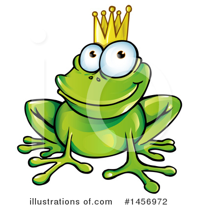 Frog Clipart #1456972 by Domenico Condello