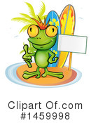 Royalty-Free (RF) Frog Clipart Illustration #1459998