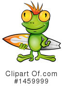 Royalty-Free (RF) Frog Clipart Illustration #1459999