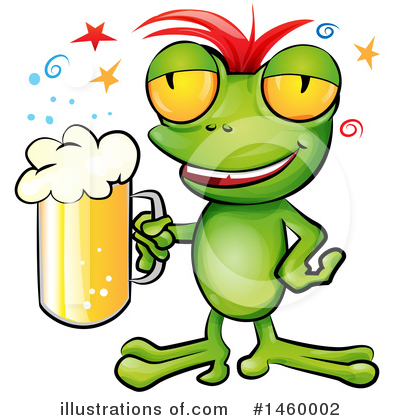 Frog Clipart #1460002 by Domenico Condello