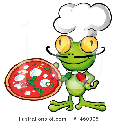Frog Clipart #1460005 by Domenico Condello