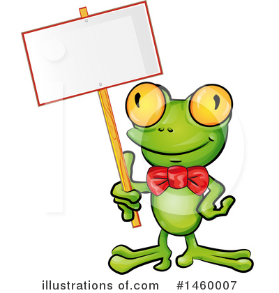 Frog Clipart #1460007 by Domenico Condello
