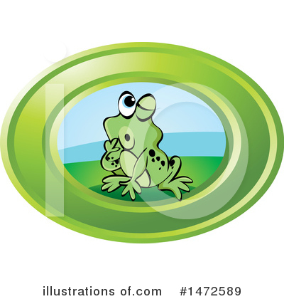 Frog Clipart #1472589 by Lal Perera