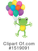 Royalty-Free (RF) Frog Clipart Illustration #1519091
