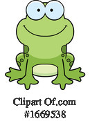 Frog Clipart #1669538 by Cory Thoman