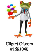 Frog Clipart #1691040 by Julos