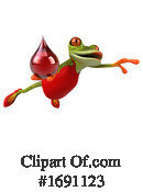 Frog Clipart #1691123 by Julos