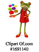 Frog Clipart #1691140 by Julos