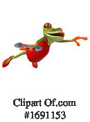 Frog Clipart #1691153 by Julos
