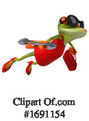 Frog Clipart #1691154 by Julos