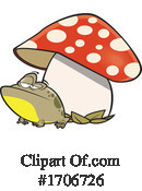 Frog Clipart #1706726 by toonaday
