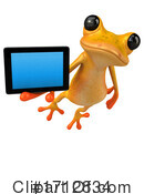 Frog Clipart #1712834 by Julos