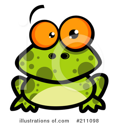 Frog Clipart #211098 by Hit Toon