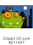 Frog Clipart #211407 by Hit Toon