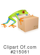 Royalty-Free (RF) Frog Clipart Illustration #215061