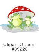 Royalty-Free (RF) Frog Clipart Illustration #39228