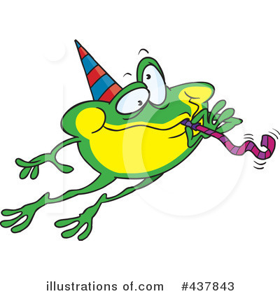 Frog Clipart #437843 by toonaday