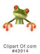 Frog Clipart #43914 by Julos