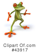 Frog Clipart #43917 by Julos
