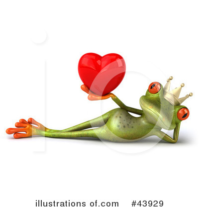 Frog Prince Clipart #43929 by Julos