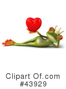 Royalty-Free (RF) Frog Clipart Illustration #43929
