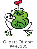 Royalty-Free (RF) Frog Clipart Illustration #440385