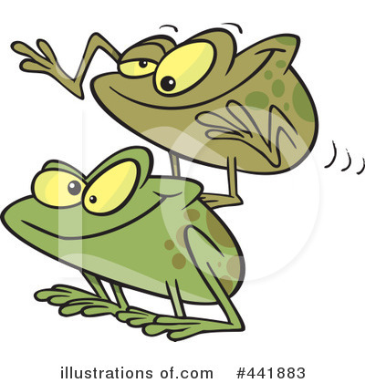 Frog Clipart #441883 by toonaday