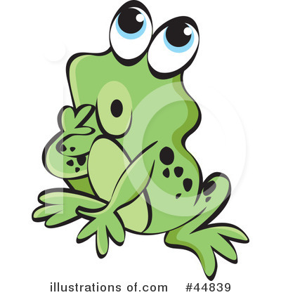 Frog Clipart #44839 by Lal Perera