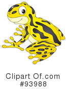Royalty-Free (RF) Frog Clipart Illustration #93988