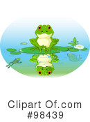 Royalty-Free (RF) Frog Clipart Illustration #98439