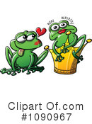 Royalty-Free (RF) frog prince Clipart Illustration #1090967