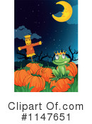Royalty-Free (RF) Frog Prince Clipart Illustration #1147651