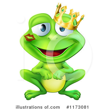 Frog Prince Clipart #1173081 by AtStockIllustration