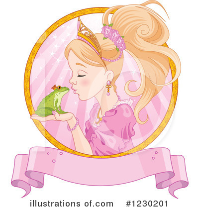 Royalty-Free (RF) Frog Prince Clipart Illustration by Pushkin - Stock Sample #1230201