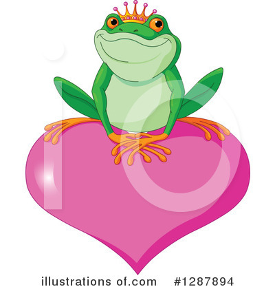 Frog Prince Clipart #1287894 by Pushkin
