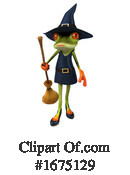 Frog Witch Clipart #1675129 by Julos