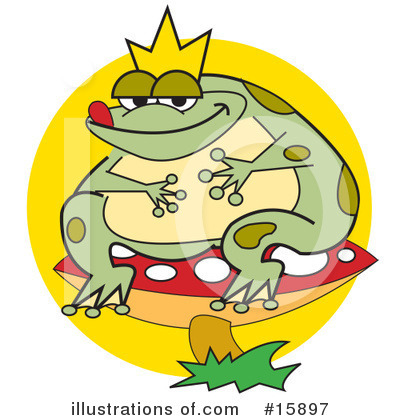 Frog Prince Clipart #15897 by Andy Nortnik