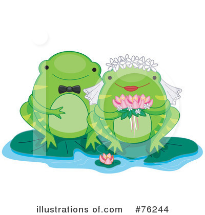 Royalty-Free (RF) Frogs Clipart Illustration by BNP Design Studio - Stock Sample #76244